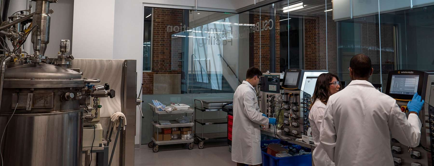 CSL Behring Fermentation Facility | The Huck Institutes