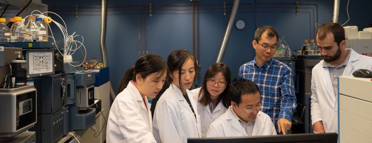 Researchers revealed how to convert stem cells to more mature cell types using small molecules instead of expensive growth factors and reported their results in a paper published today (Aug. 26). Yuqian Jiang, first author on the paper, illustrated finding the path. IMAGE: YUQIAN JIANG/PENN STATE